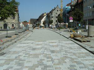 Straßenpflasterung Wittmann